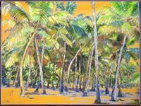Renee-Koenig-Landschaft-Tropisch-Diverse-Romantik-Moderne-expressiver-Realismus