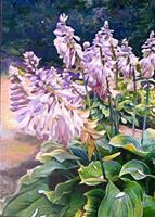 Renee-Koenig-Pflanzen-Blumen-Landschaft-Sommer-Neuzeit-Realismus