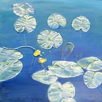 Renee-Koenig-Diverse-Pflanzen-Natur-Wasser-Gegenwartskunst-Gegenwartskunst