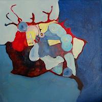 Sylvie-Gasser-Abstraktes-Gefuehle-Freude-Moderne-Abstrakte-Kunst
