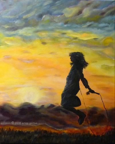 artep-gnitlon, Wenn der Abend kommt...4, Romantik: Sonnenuntergang, Spiel, Expressionismus