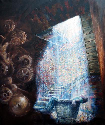 artep-gnitlon, Safty..., Fantasie, Diverse Bauten, Surrealismus, Abstrakter Expressionismus