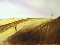 Andreas-Gortan-Landschaft-Huegel-Moderne-Naturalismus