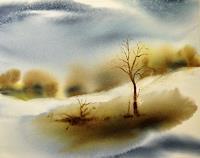 Andreas-Gortan-Landschaft-Winter-Moderne-Naturalismus