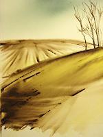 Andreas-Gortan-Landschaft-Sommer-Moderne-Naturalismus