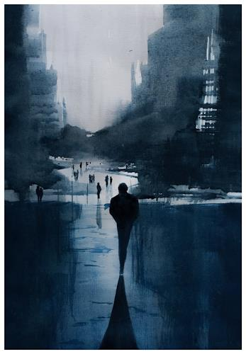 Andreas Gortan, duality, Diverse Menschen, Gegenwartskunst
