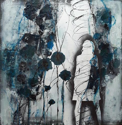 Monika Ostheimer, Feelings, Menschen, Abstraktes, Gegenwartskunst, Abstrakter Expressionismus