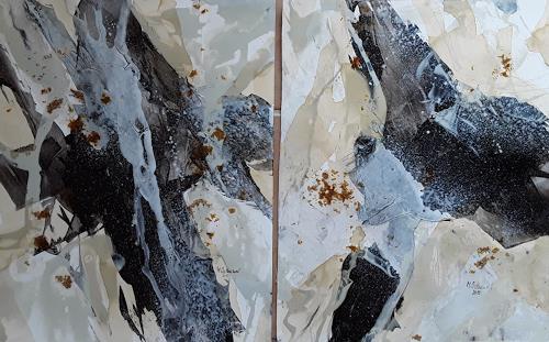 Monika Ostheimer, Abstrakt, Abstraktes, Fantasie, Abstrakte Kunst
