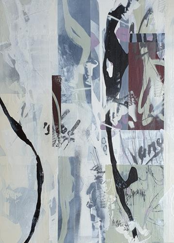 Monika Ostheimer, Formensprache, Abstraktes, Fantasie, Abstrakte Kunst