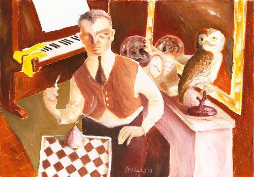 Ken Dowsing, LOVE´S OLD SWEET SONG, Abstraktes, Abstraktes, Expressionismus