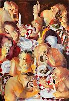 ArtKult - Silvia Dowsing-Tieber, LUNCH AT BURTONS