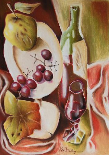 Ken Dowsing, Steirischer Herbst, Dekoratives, Essen, Expressionismus