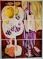 Ken-Dowsing-Stilleben-Essen-Moderne-Expressionismus