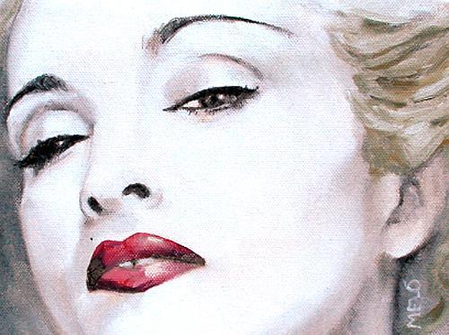 Meló, Madonna, Menschen: Frau, Menschen: Gesichter, Realismus, Expressionismus
