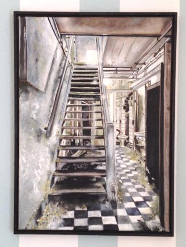 Stiane, Stilles Örtchen, Architektur, Geschichte, Realismus, Abstrakter Expressionismus