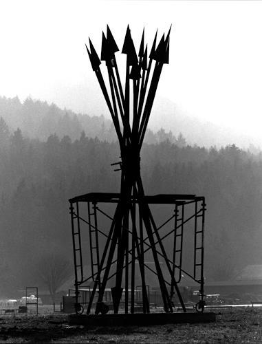 Jean-Marc Gaillard, Pfeilbündel, Diverses, Krieg, Dadaismus, Abstrakter Expressionismus