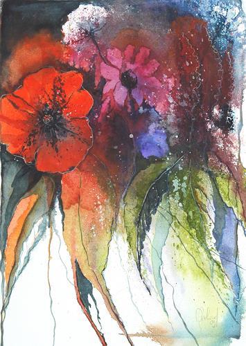 Daniel Gerhard, Floral 2, Fantasie, Pflanzen: Blumen
