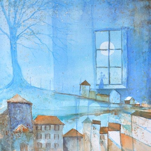 Daniel Gerhard, Wintertraum, Zeiten: Winter, Diverse Bauten, Expressionismus