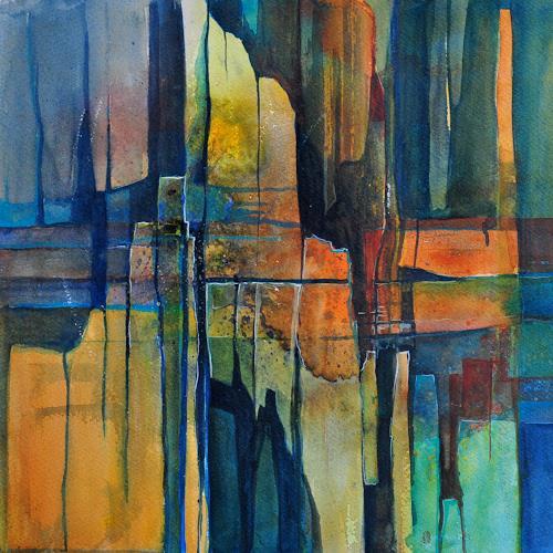 Daniel Gerhard, Splitter, Fantasie, Poesie, Expressionismus