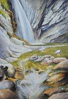 Daniel-Gerhard-Zeiten-Winter-Natur-Wasser-Moderne-Abstrakte-Kunst