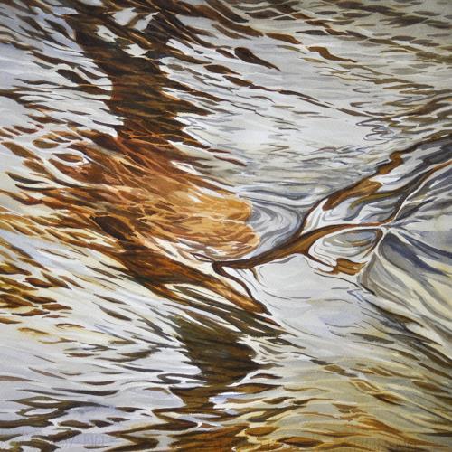 Daniel Gerhard, Suhrewasser, Natur: Wasser, Natur: Gestein, Abstrakte Kunst, Abstrakter Expressionismus