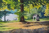 Daniel-Gerhard-Landschaft-See-Meer-Landschaft-Herbst-Moderne-Abstrakte-Kunst