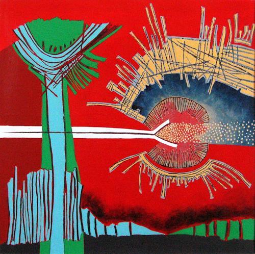 Pablo Lira, Symptome einer Rückkehr, Abstraktes, Bewegung, Neo-Geo