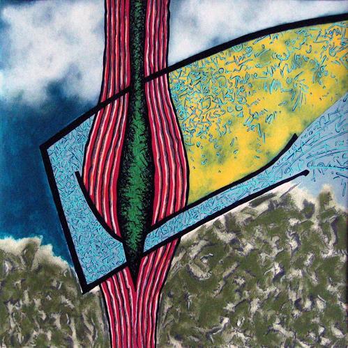 Pablo Lira, Von der Innenseite, Abstraktes, Bewegung, Neo-Geo