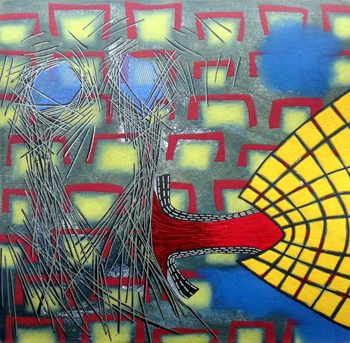Pablo Lira, Ohne Titel, Abstraktes, Bewegung