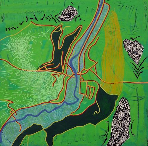 Pablo Lira, Vorra, Abstraktes, Bewegung, Expressionismus
