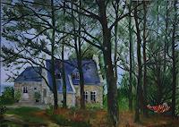 Werner-Fink-Landschaft-Herbst-Natur-Diverse-Moderne-Naturalismus