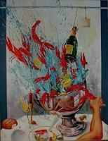 Werner-Fink-Essen-Stilleben-Moderne-Avantgarde-Surrealismus