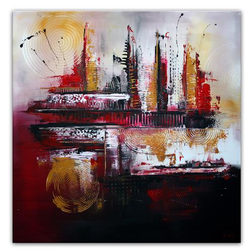Burgstallers-Art, FIREBALLS, Abstraktes, Natur: Feuer, Moderne