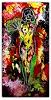 Burgstallers-Art, Waldfee,nude women,nackte frau,handgemalt,gemälde,50x100, Menschen: Frau, Abstraktes, Abstrakte Kunst