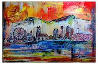 Burgstallers-Art-Abstraktes-Architektur-Moderne-Abstrakte-Kunst