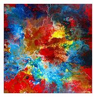 Burgstallers-Art-Abstraktes-Fantasie-Moderne-Abstrakte-Kunst