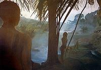 Frank-Dimitri-Etienne-Landschaft-Tropisch-Moderne-Fotorealismus