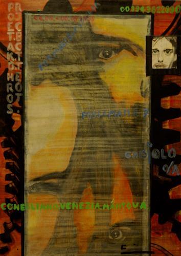 Frank Dimitri Etienne, Back to the Roots, Diverse Gefühle, Abstrakte Kunst