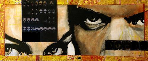 Frank Dimitri Etienne, Röntgenblick, Gesellschaft, Pop-Art