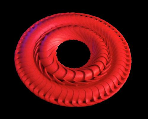 Frank Dimitri Etienne, Roter Ring, Fantasie, Gegenwartskunst