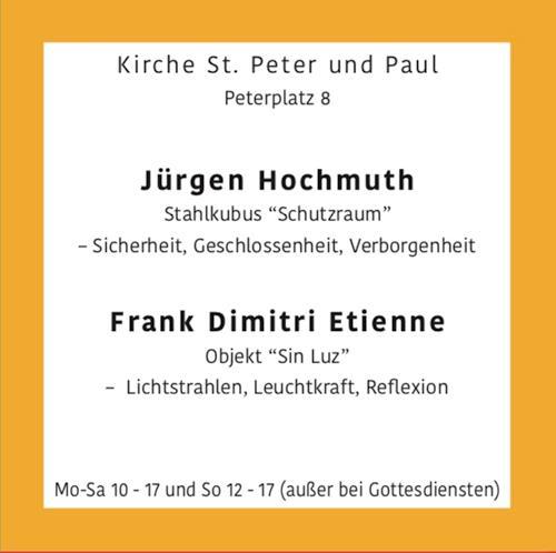 Frank Dimitri Etienne, O/T, Arbeitswelt, Abstrakte Kunst