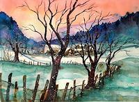 Conny-Landschaft-Winter-Diverse-Romantik-Gegenwartskunst-Gegenwartskunst