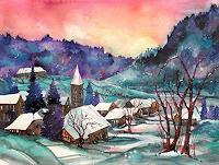 Conny-Landschaft-Winter-Maerchen-Gegenwartskunst-Gegenwartskunst