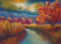 Conny-Landschaft-Herbst-Gefuehle-Geborgenheit-Gegenwartskunst-Gegenwartskunst