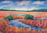 Conny, Landschaft in Pastell