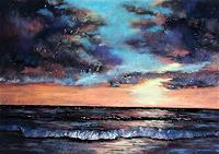Conny, Soft pastel seascape