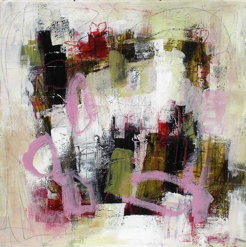 Conny, sweet promise, Abstraktes, Fantasie, Abstrakter Expressionismus