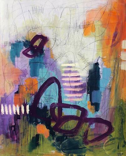 Conny, O/T, Abstraktes, Bewegung, Postmoderne, Expressionismus