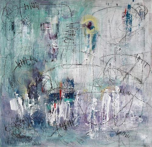 Conny, Beyond the sun, Abstraktes, Mythologie, Informel, Abstrakter Expressionismus