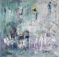 Conny-Abstraktes-Mythologie-Moderne-Abstrakte-Kunst-Informel